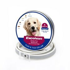 Waterproof Flea and Tick Prevention Anti Insect Collar for Large Dog Cat 6 month