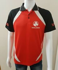 Holden V8 Men's Red Polo Shirt Size S Official Holden Merchandise