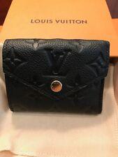 NWT Louis Vuitton Empreinte Leather Black Zoe NIB - France - SOLD OUT