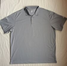 Nike Golf Tour Performance Polo Mens 2Xl Gray