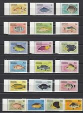 TIMBRE STAMP 19 GRENADINES GRENADE Y&T#350-68 POISSON FISH NEUF**/MNH-MINT ~B80