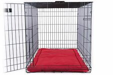 Medium Dog Tuff Crate Pad /Bed Water Resistant Easy Clean High Chew Proof Rating