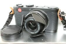 Leica X X1 12.2MP Digital Camera All Black