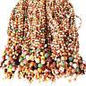 Natural Gobi Multi-Color Alashan Agate/stone Pendant Necklace,Suiseki-viewing