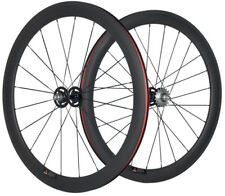 60mm Clincher Carbon Single Speed Track Wheel Fixed Gear Wheel 700C Bicycle Race