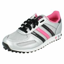 Calzado de niña zapatillas deportivas negros adidas