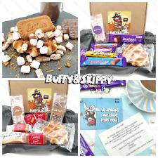 Personalised Chocolate Loaded Waffle Gift Kit Treat Hamper Lotus Cadbury Kinder