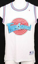 Champion White Space Jam Tune Squad D. Duck 2 Basketball Athletic Jersey Men's M