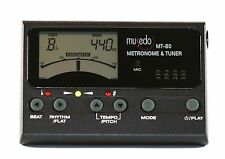 Musedo violin chromatic tuner metronome tone generator MT80 Inc batteries pickup