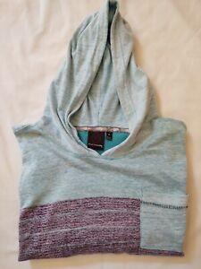 BURNSIDE Men's Soft Long Sleeve Hoodie - Size Medium