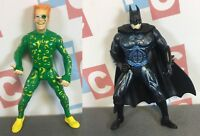 Kenner 1997 DC Comics Batman Forever Movie Collection Batman The Riddler Figures