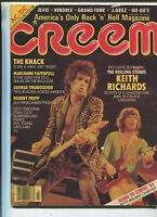 Creem Feb.1982 Keith Richards Mick Jagger Elvis  AC/DC Bonus Color Poster MBX6