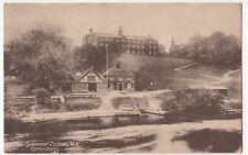 Shrewsbury; Grammar School, NE PPC c1920 to Miss Broome, Heaton Norris