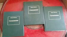 Censorship, giant 3-volume reference/encyclopedia of attacks on free expression