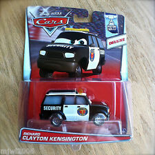 Disney PIXAR Cars RICHARD CLAYTON KENSINGTON diecast PISTON CUP 4/18 DELUXE SUV