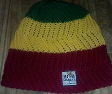 Bob Marley X Billabong Knit Beanie! RASTA! 4:20!  RARE!
