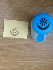 Floral paper craft punch cardmaking scrapbooking edging 2 1/2 cm