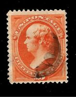 US 1870-71  Sc # 152 15 c  WEBSTER  Used  - Centered - Crisp Color