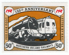 (I.B) Northern Ireland Railways : 150th Anniversary Stamp 50p