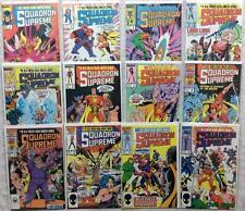 Squadron Supreme complete series #1 - #12 (Marvel 1985) Hi grade.