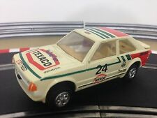 Scalextric Car Ford Escort XR3i White Texico No24 C441