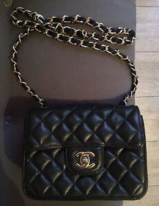 Sac a main Chanel Timeless mini Vintage Cuir De Veau