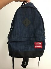 "SS15 Supreme x The North Face Day Pack Gore Windstopper ""Denim"" Backpack"