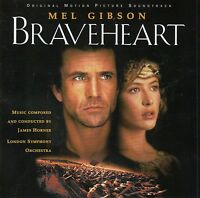 BRAVEHEART - ORIGINAL MOTION PICTURE SOUNDTRACK - MUSIC BY JAMES HORNER / CD