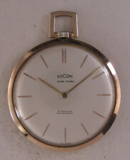 UNIQUE SUPER FLAT - 7mm Swiss 1970 HI GRADE Pocket Watch Perfect Fully Serviced
