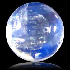 1.57 ct AAA Flashing Round Cabochon Shape (7 7 mm) Rainbow Blue Moonstone