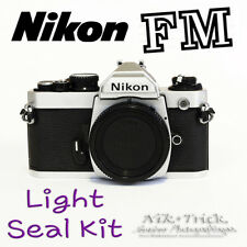 Nikon FM ~ Replacement Light Seal Kit ~ Laser Cut, Enough for 3 Cameras!