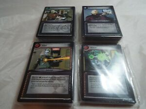 STAR TREK CCG 2E COMPLETE CALL TO ARMS, 208 CARD SET