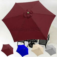 Patio Umbrella Top Sun Parasol Replacement Cover fit 9' 6 Arm Canopy