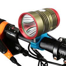 XHP70 LED Mountain Bike Bicycle Front Light Cycling Head Lamp Waterproof Bracket