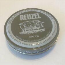 Reuzel Extreme Hold Matte Pomade 4 oz Tin Hair Care Styling Hollands Finest NOS