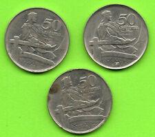 LATVIA LETTLAND LOT OF 3 COINS 50 San. 1922s 4