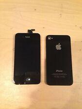 Original iPhone 4S GSM Black Screen Replacement + Original Black Back Glass