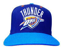 Adidas Oklahoma City Thunder Hat Adult Snap Back Cap OKC NBA Blue RN#119208