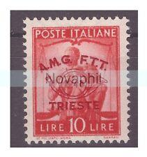 TRIESTE A - 1948  CONGRESSO FILATELICO    LIRE  10  NUOVO **