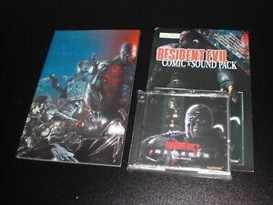 Resident Evil 3 Nemesis - Original Soundtrack 2 CD's + Comic - Capcom LIMITIERT