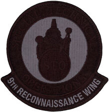 USAF 9th RECONNAISSANCE WING - SPECIAL TECHNICAL OPERATIONS (STO) PATCH