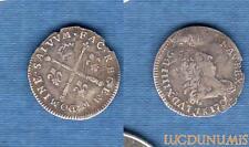Louis XIV, 1643-1715 – 5 Sols aux insignes 1702 M Toulouse B TB