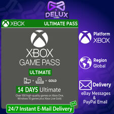 INSTANT XBOX LIVE 14 DAY GOLD & GAME PASS ULTIMATE TRIAL CODE 🔑 (Region Free)