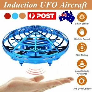 Mini Drone Quad Induction UFO Flying Toy Hand-Controlled RC Kids Xmas Gifts KC
