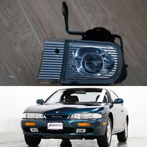 S14 ZenKi OeM LH L Side LEFT ProJeCtoR FoG LighT With CoVeR BraCkeT 200sx 240sx