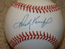 Sandy Koufax Signed ONL Baseball Los Angeles Dodgers HOF JSA