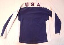 Women's Jacket Team USA Olympics Windbreaker Full Zipper Size L / XL - EUC