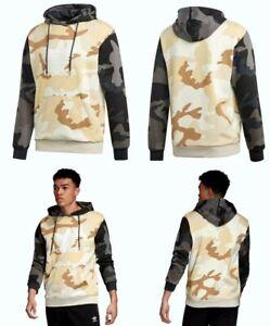 Adidas Originals Camouflage Mix 100% Cotton Hoodie Men's Size Large ED6979