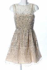 ALICE + OLIVIA Abendkleid wollweiß Elegant Damen Gr. DE 36 wollweiß Kleid Dress