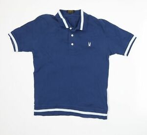 Aertex Mens Blue    Polo Size M